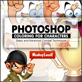 digital coloring photoshop tutorial