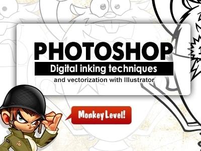 photoshop inking tutorial