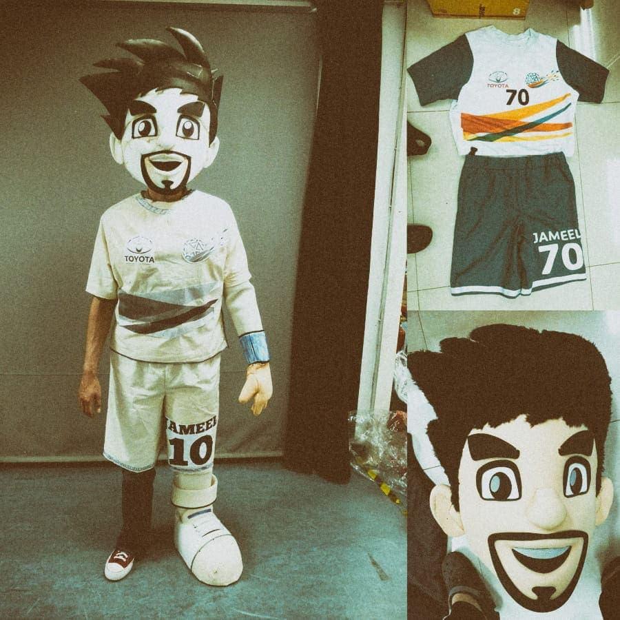 mascot costume creation