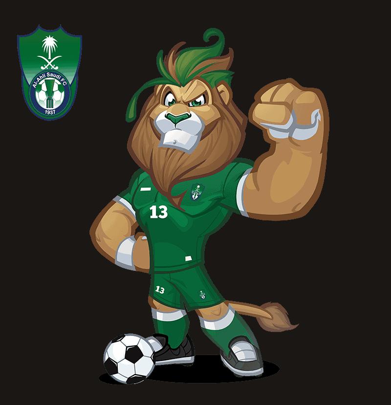 Al-Ahli Saudi FC mascot design