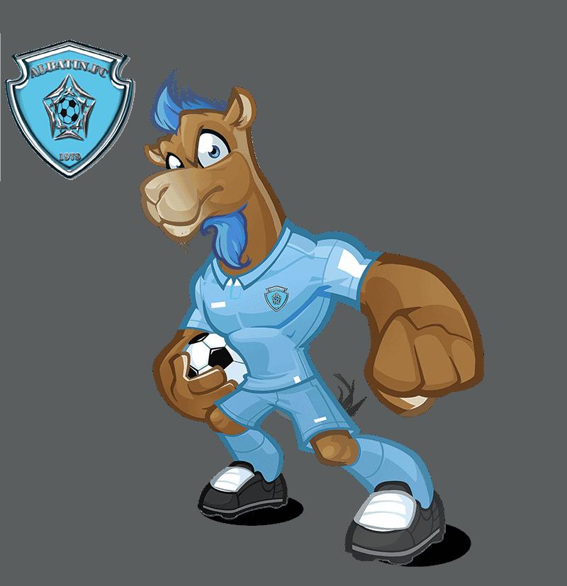Al-Batin FC mascot design