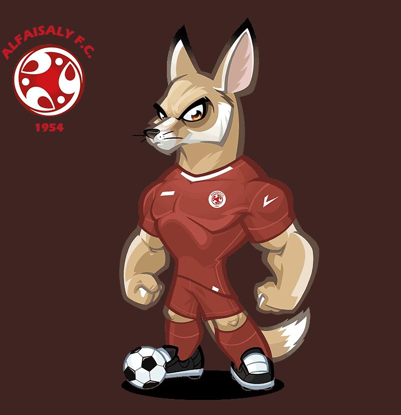 Al-Faisaly FC mascota deportiva