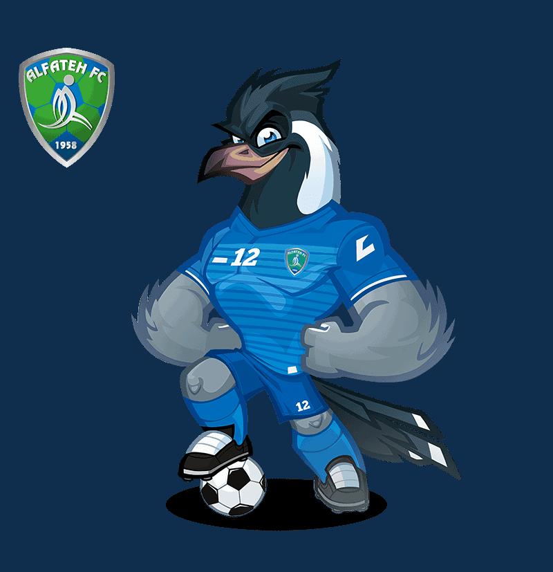 Al-Fateh SC mascota deportiva