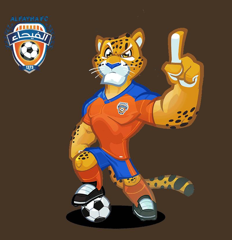 Al-Fayha FC mascota deportiva