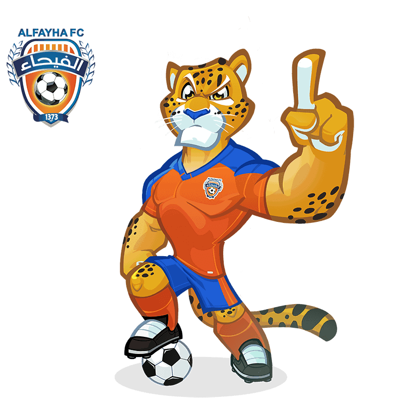 Al-Fayha FC mascot design
