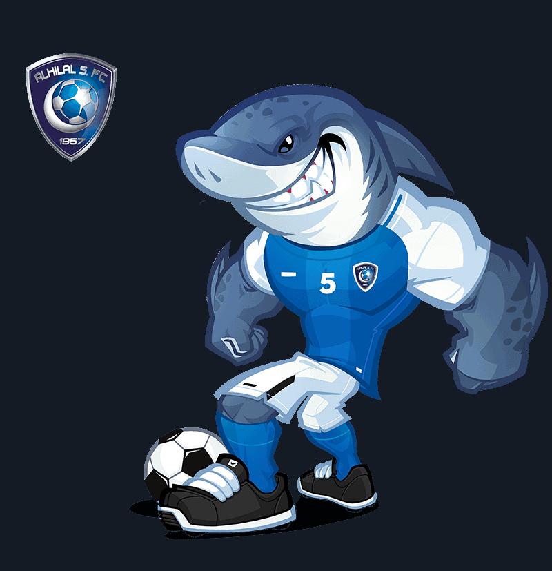 Al-Hilal FC mascot design