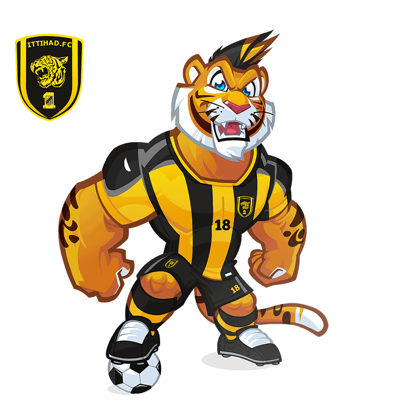 Al-Ittihad Club mascot design