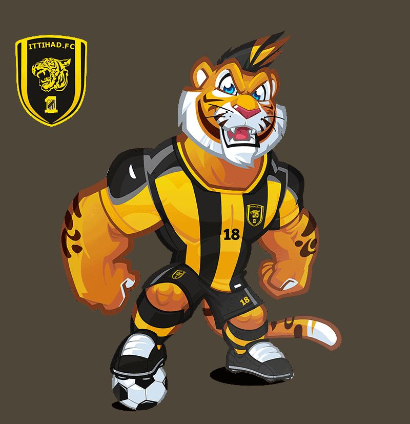 Al-Ittihad Club mascota deportiva