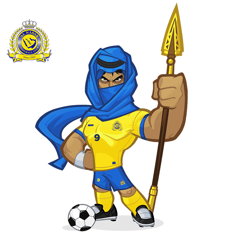 Al-Nassr FC mascota deportiva