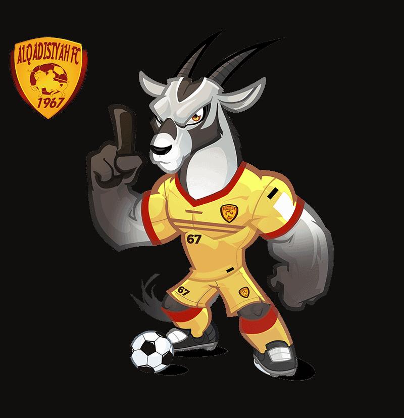 Al-Qadsiah FC mascot design