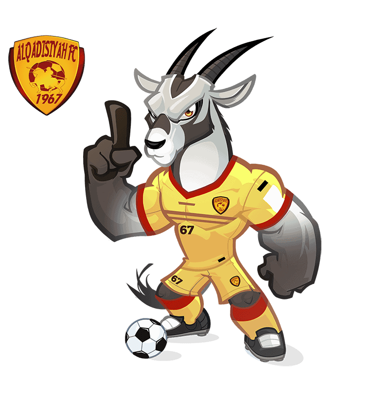 Al-Qadsiah FC mascota deportiva