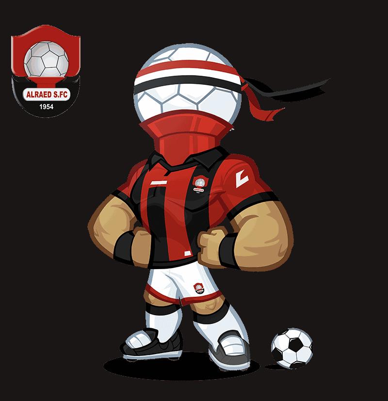 Al-Raed FC mascot design
