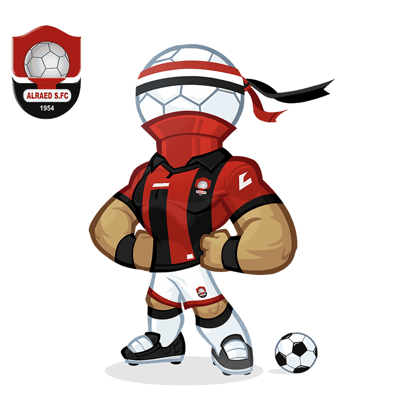 Al-Raed FC mascota deportiva