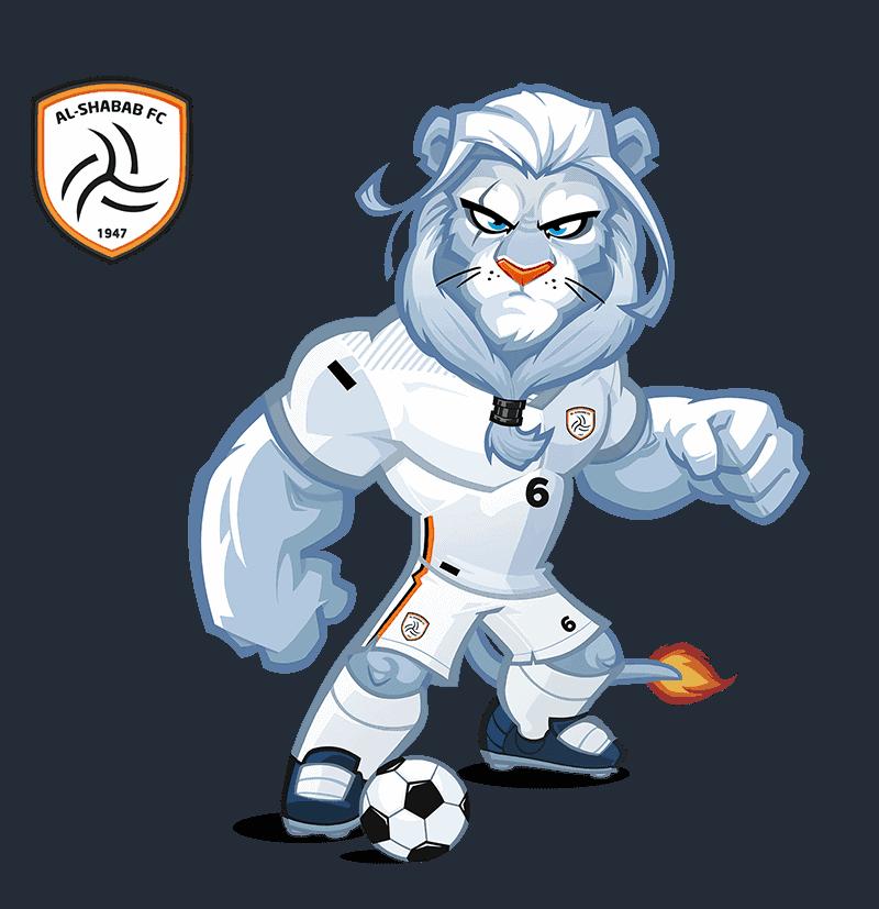 Al-Shabab FC mascot design
