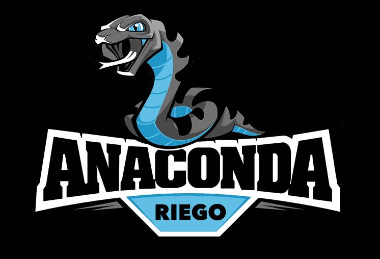 anaconda riego logo design