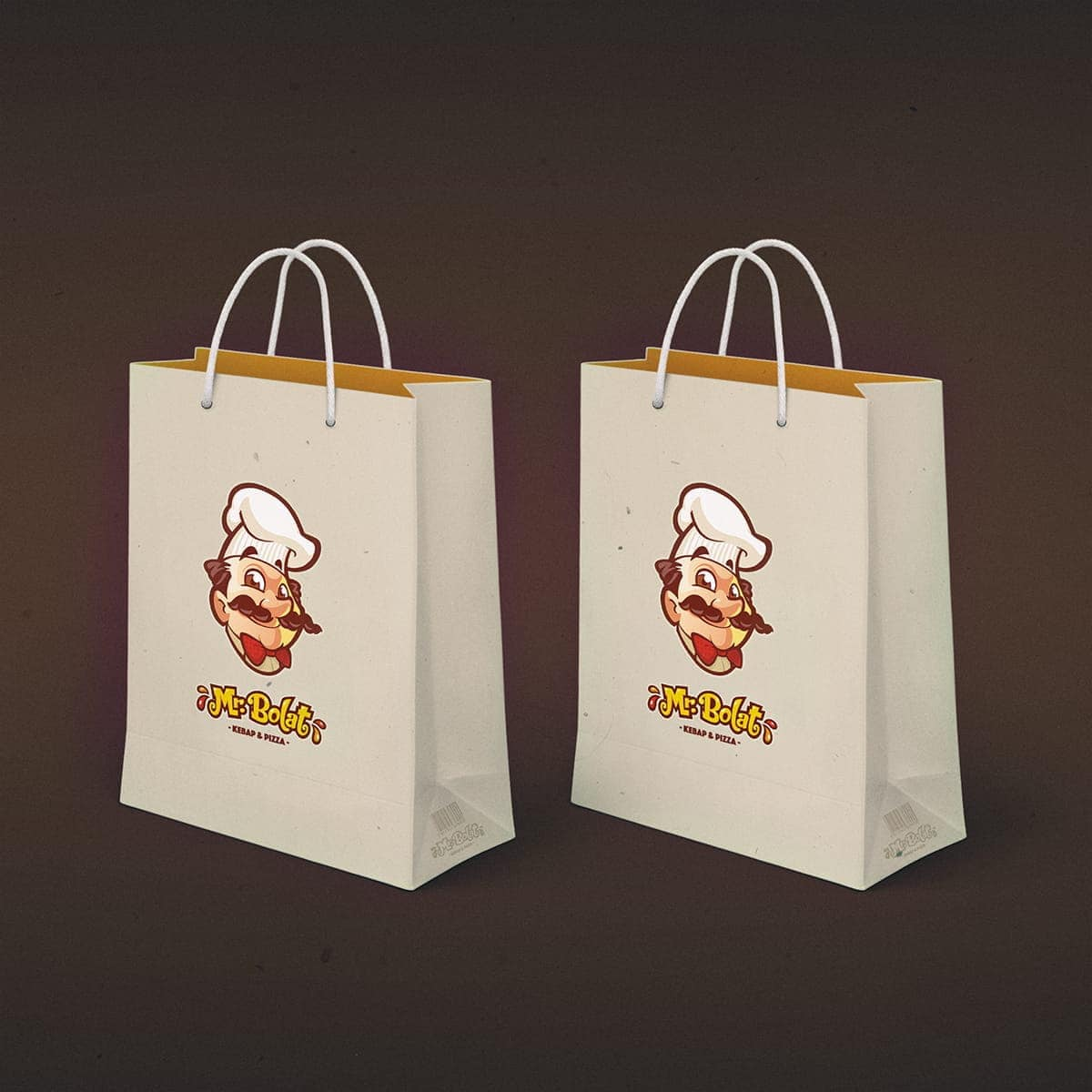 fast food bag design