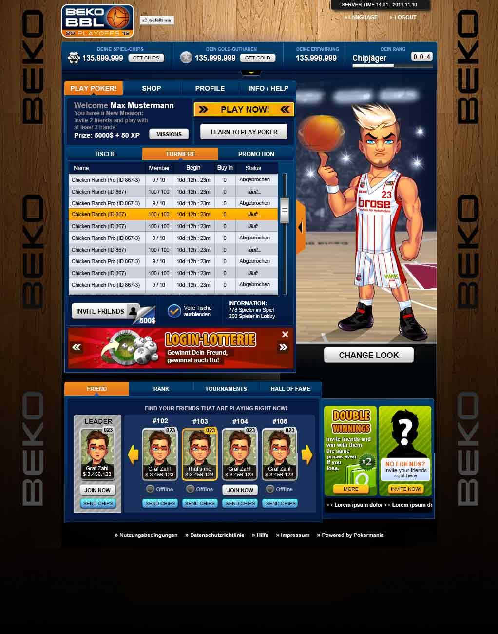 app interface poker 01