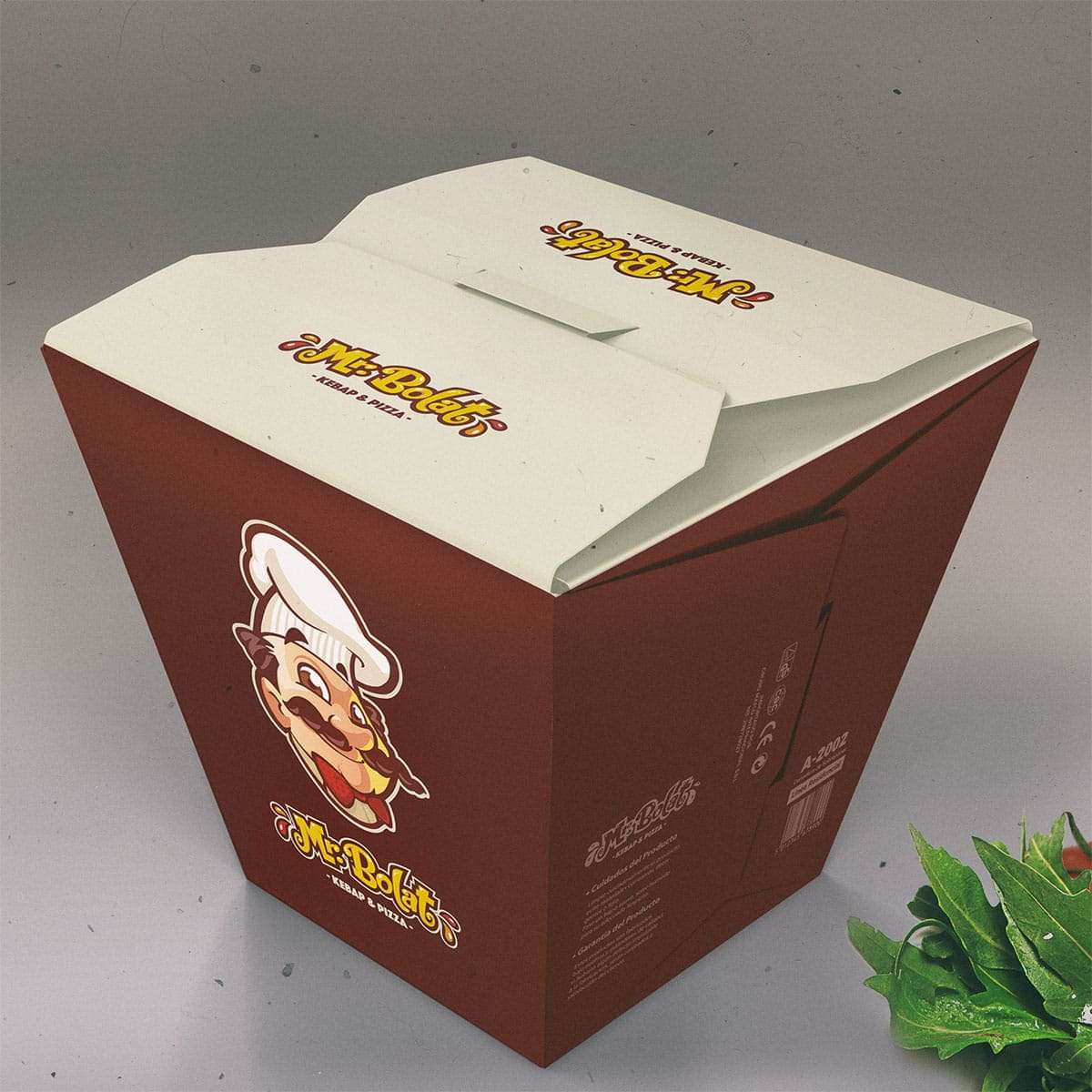 fast food box design