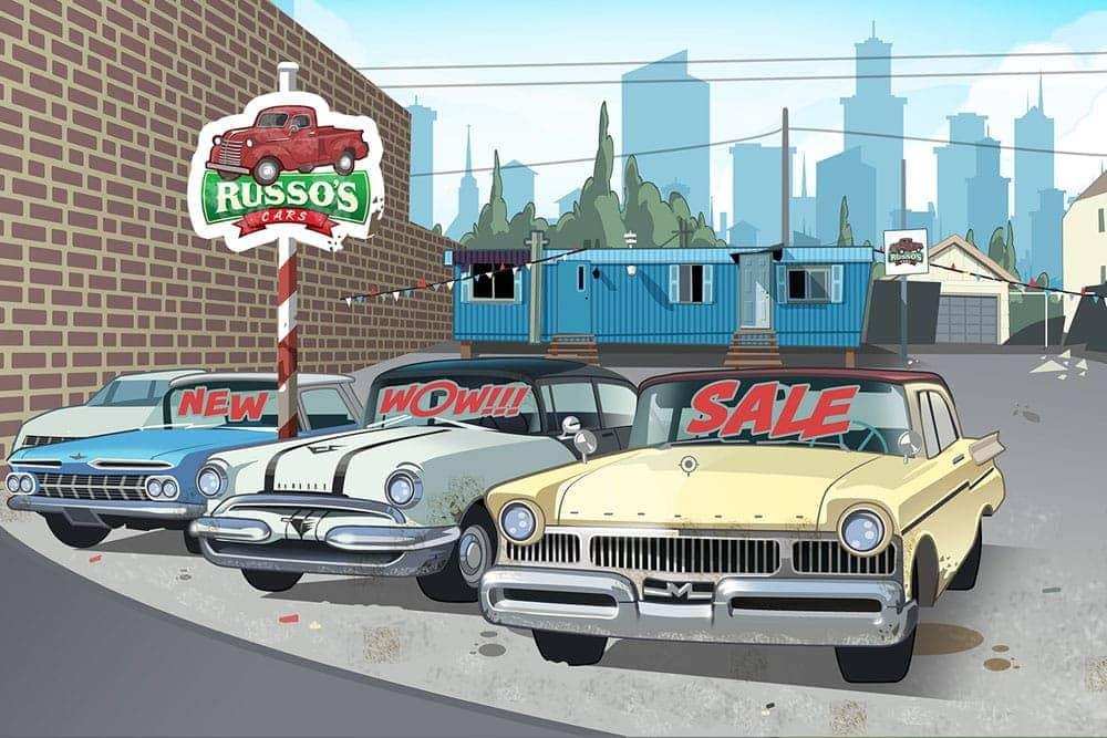 game illustration background