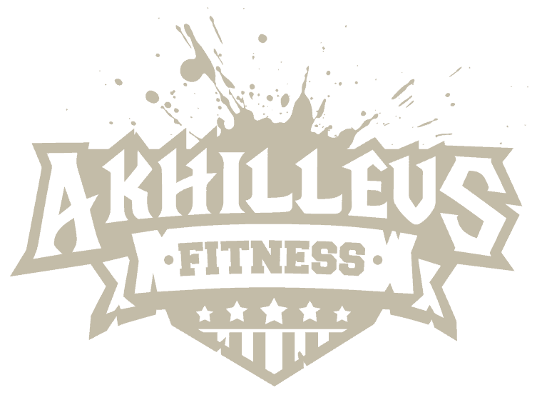 fitness logo design 1 color light