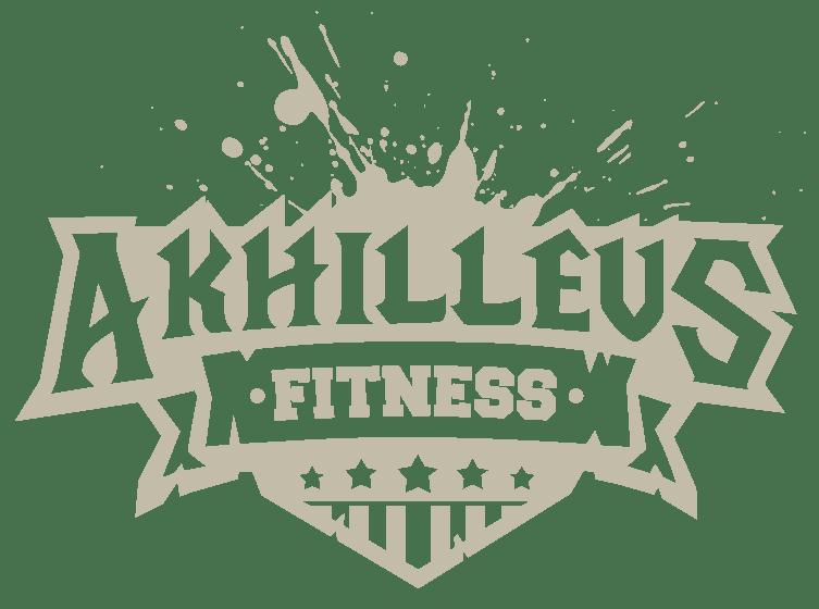 fitness logo design 1 color light