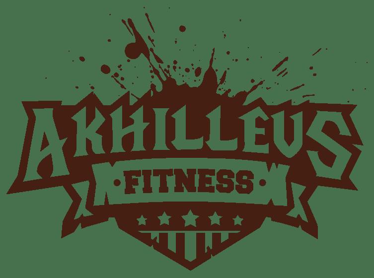 fitness logo design 1 color dark