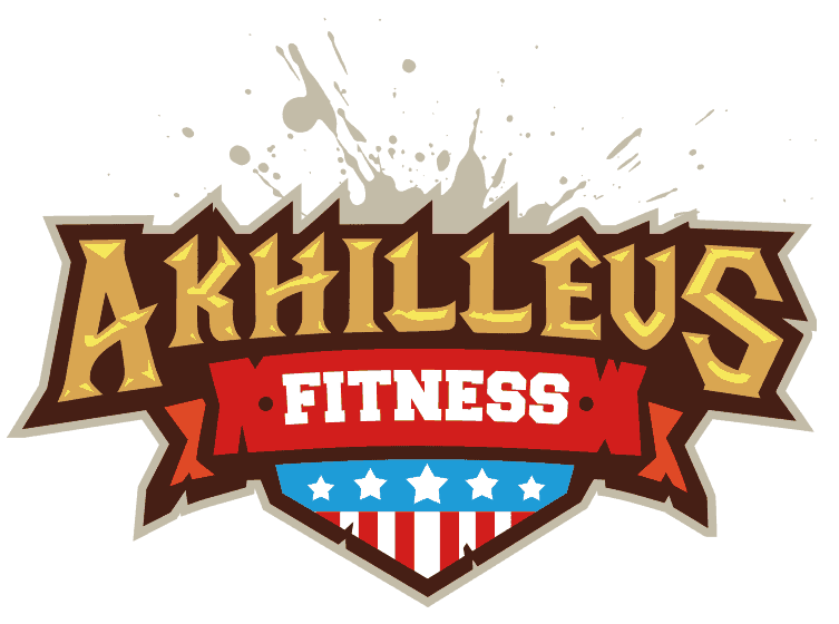 fitness logo design full colors
