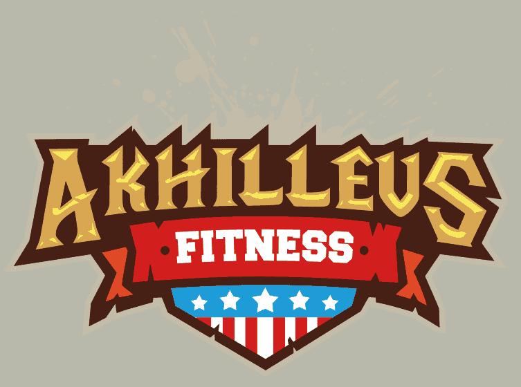 fitness logo design full colors