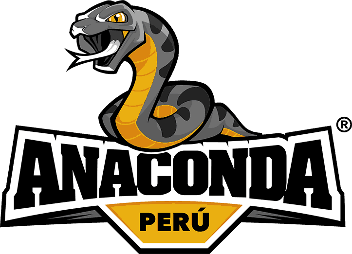 anaconda peru logo design