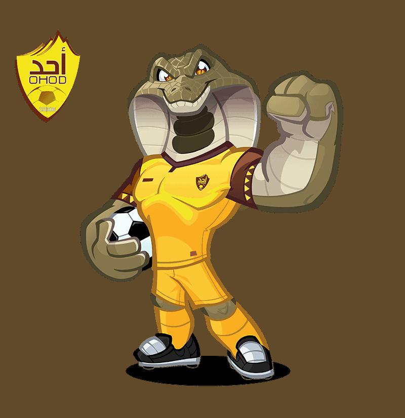 Ohod Club mascota deportiva