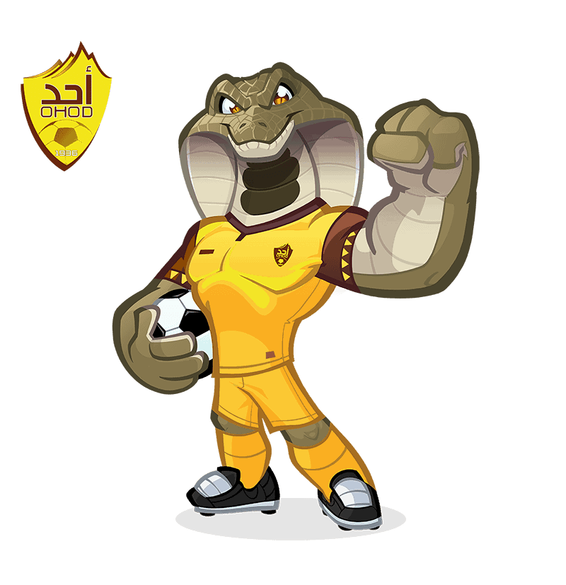 Ohod Club mascot design