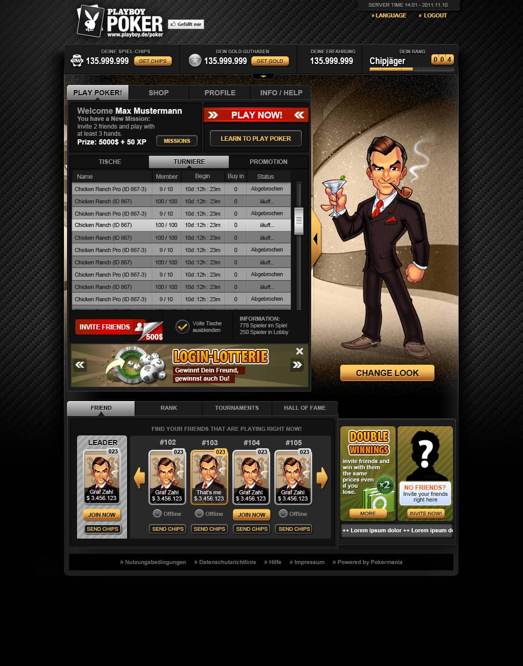app interface poker 02