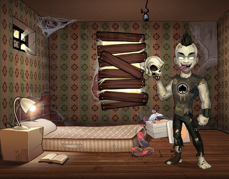 game background illustration 02