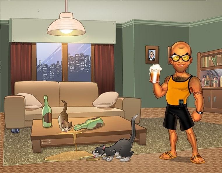 game background illustration 04