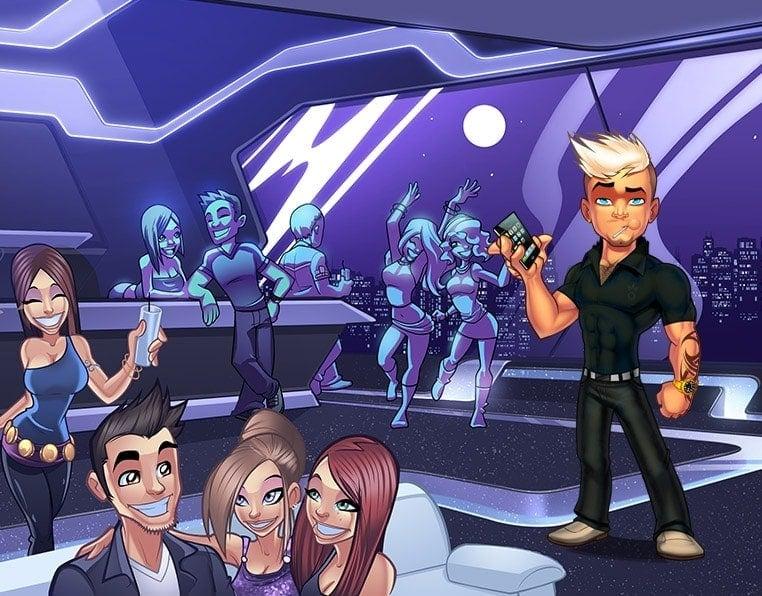 game background illustration 07