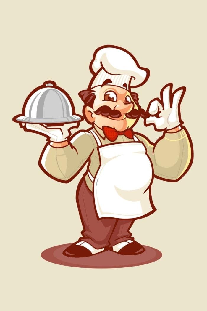 restaurant mascot design