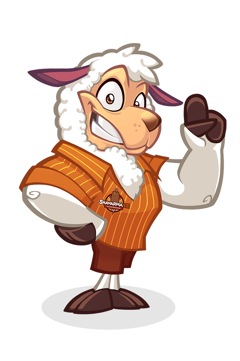 sheep mascot design