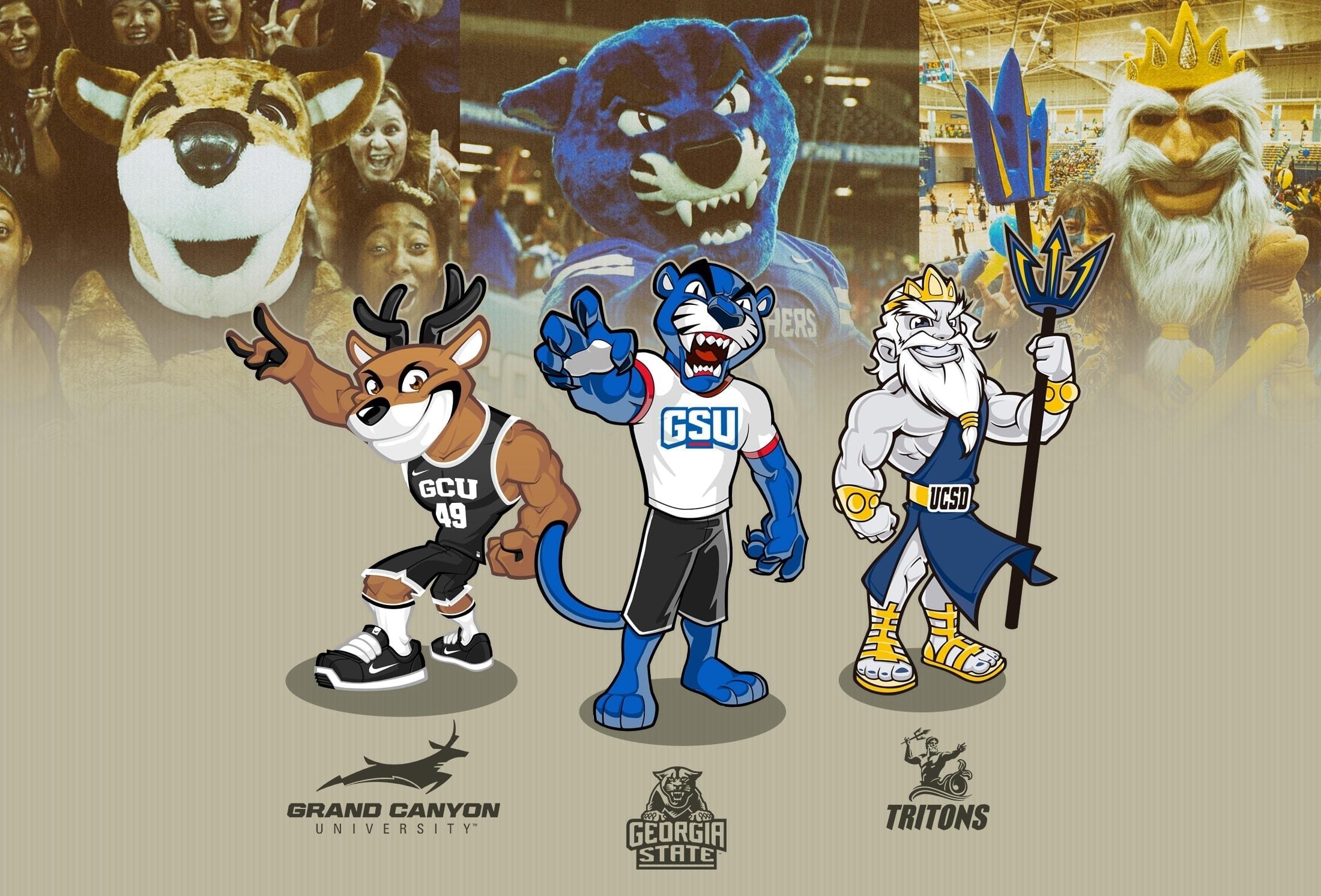 sport mascot university
