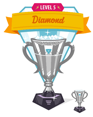 diamond trophy interface design