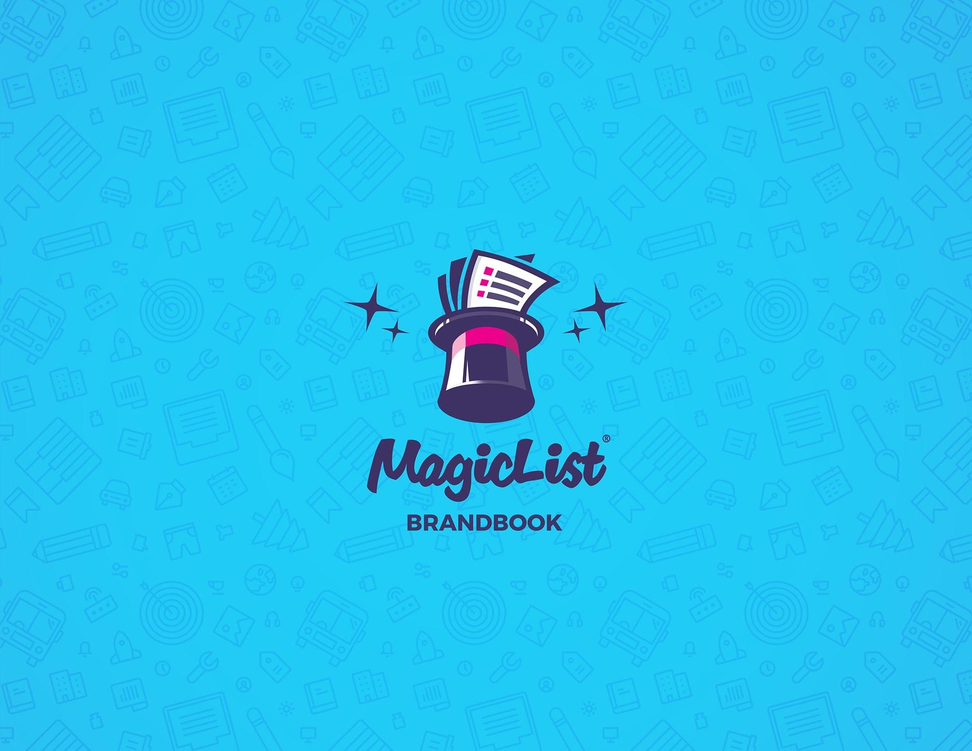 magiclist logo design