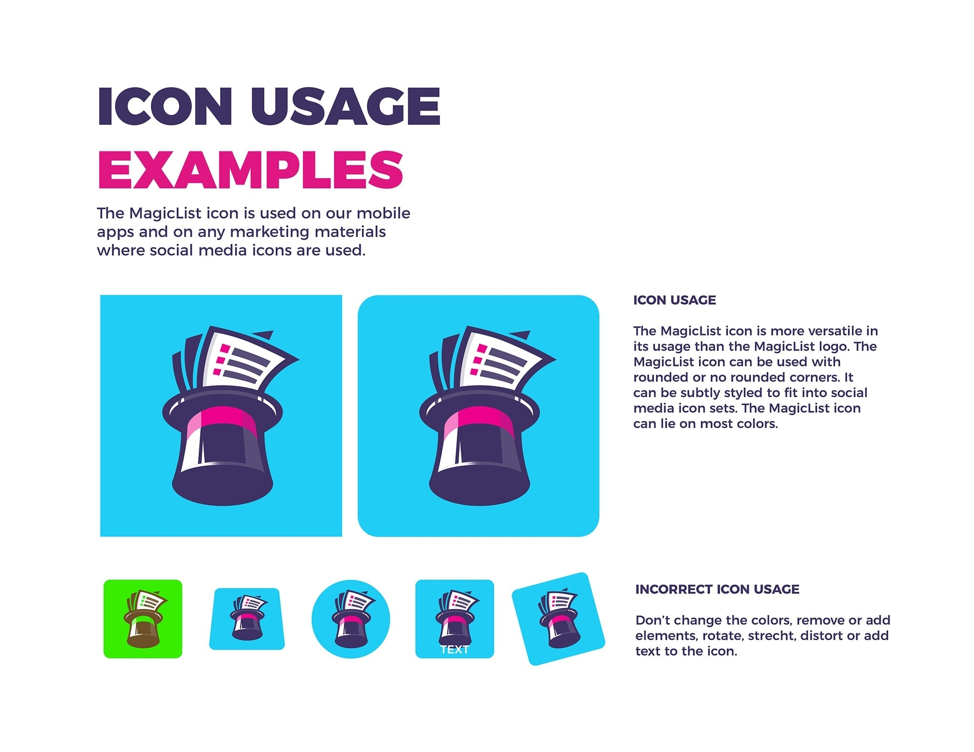 icon brand identity