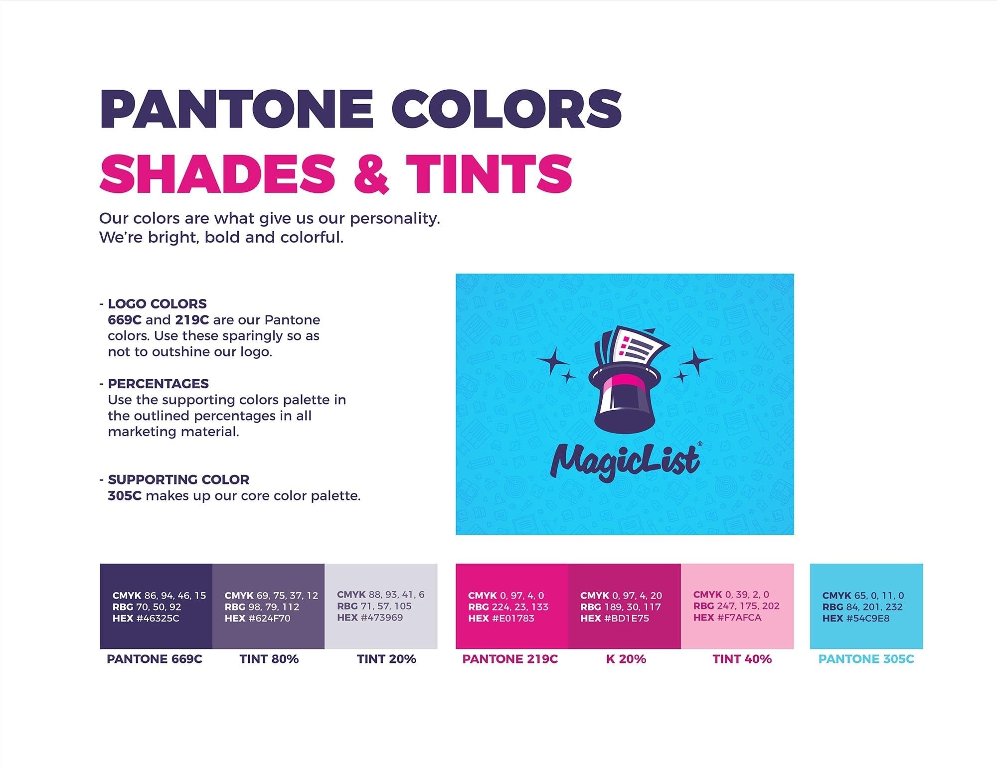 pantone brand identity