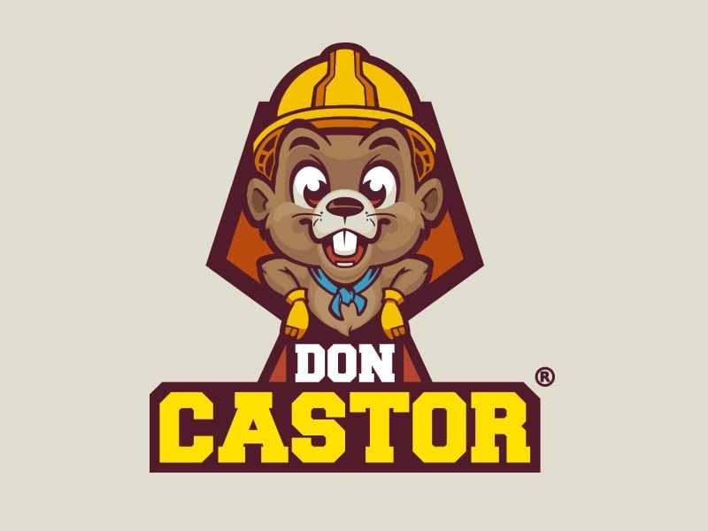 mascota publicitaria Don Castor