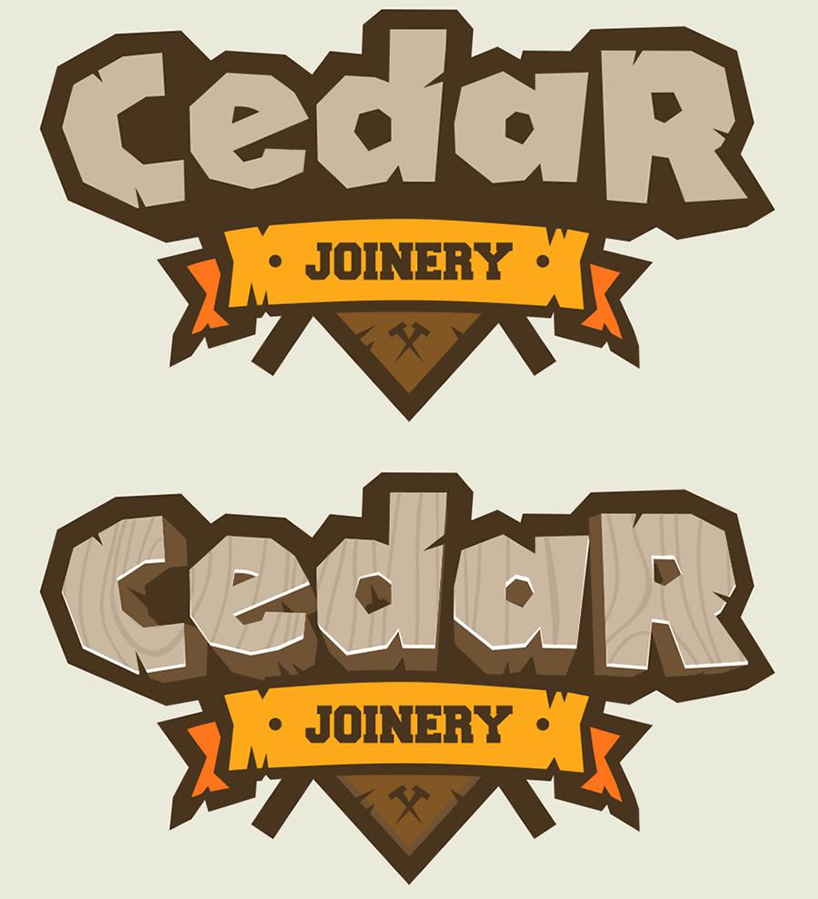 simple logo dark