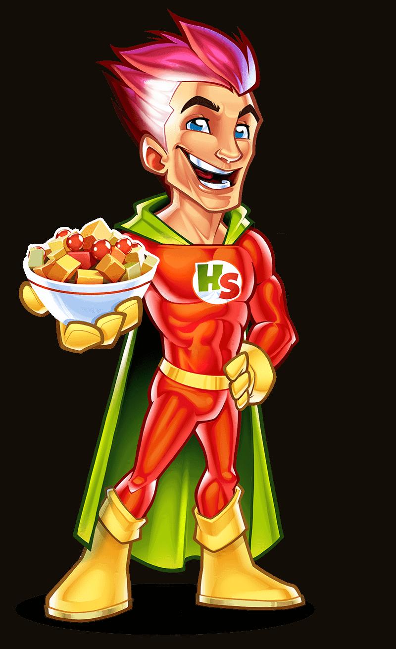 snack Mascot design 02