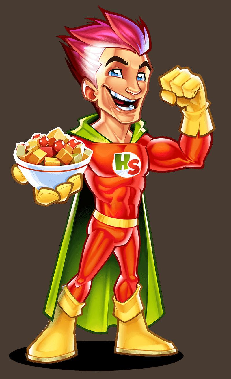 snack Mascot design 03