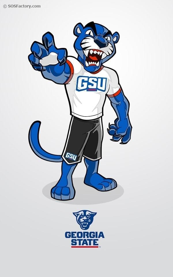 gsu-mascot-design