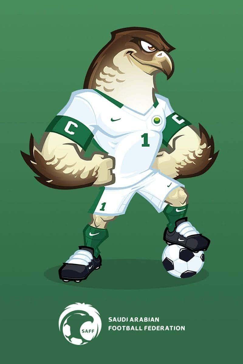 saqr mascot design