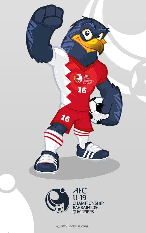 sport mascot design bahrein