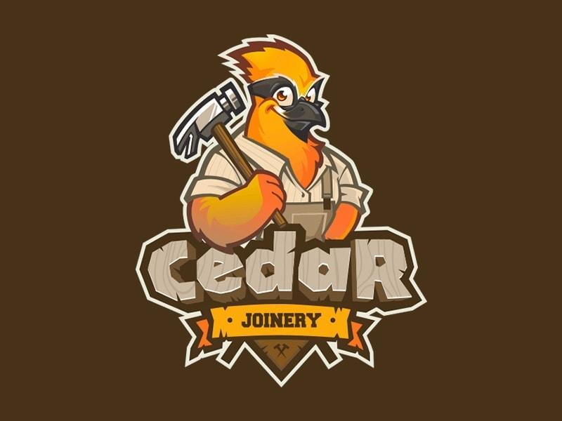 mascot-logo-cedar-joinery